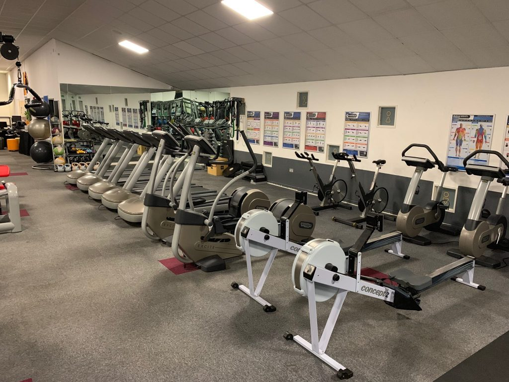Top of the range cardio equipment